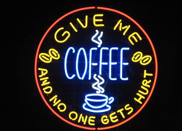 New HIGH LIFE Neon Beer Sign Bar Sign Real Glass Neon Light Beer Sign New Give Me Coffee Shop Cafe Business Open Neon 24x20