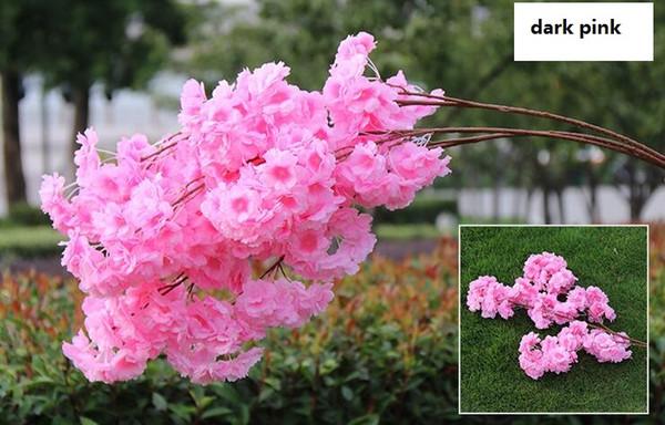 3 bifurcations 3 petals dark pink