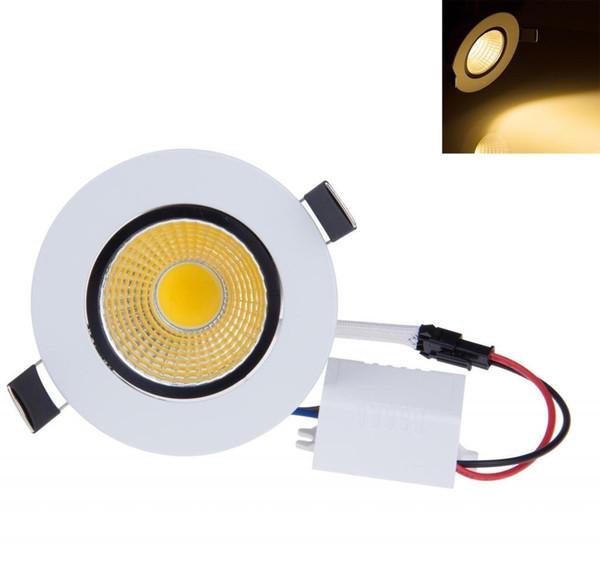 Regulable Empotrable empotrable empotrable mazorca 6W 9W 12W 15W atenuación LED Spot light lámpara de techo led AC 110V 220V