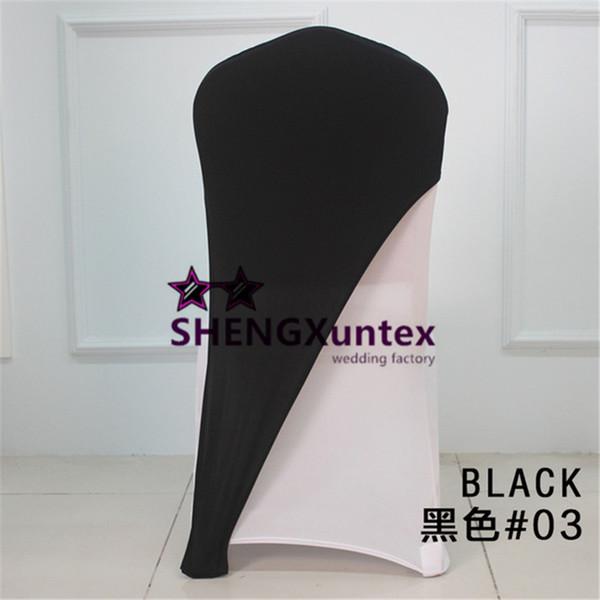 100pcs Black Color Lycra Spandex Chair Cap \ Hood For Chair Cover