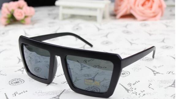 Fashion Oversized Sunglasses Luxury Square Sun Glasses men Summer Style Classic Women Sun glasses Big Square UV400 12pcs/Lot Free Shipping