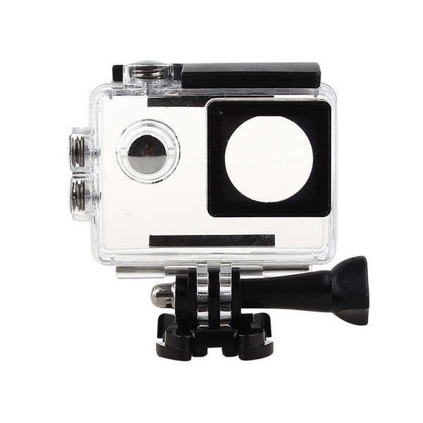 Wholesale- Action camera Waterproof Case Diving Housing Bag Box Protective Case for Sports cameras SJ4000/SJ7000/SJ9000/w8+ 4k H9 Camcorder