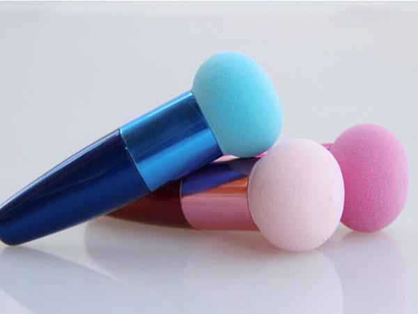 Nuevos vestidos de Toopoot Women Cosmetic Liquid Cream Foundation Corrector Esponja Lollipop Pinceles de maquillaje