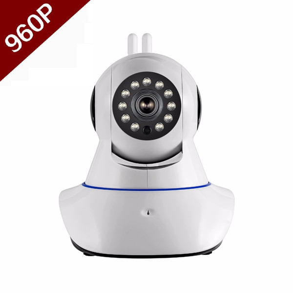 Double antenna Camera wireless IP camera WIFI Megapixel 960p HD indoor Wireless Digital Security CCTV IP Camera + 16G TF memory card 1PCS
