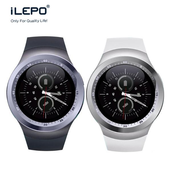 Y1 Bluetooth Smart Watch Phone браслет Браслет 1.54 дюймовый TFT ЖК-дисплей круглый экран Micro USB для мобильных телефонов Android