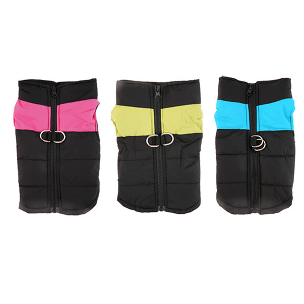 Free Shipping Dog Clothes Dog Winter Clothing Large Dog Vest Warm Apparel Pet Clothes High Quality Clothing ForDog Pet Supplies