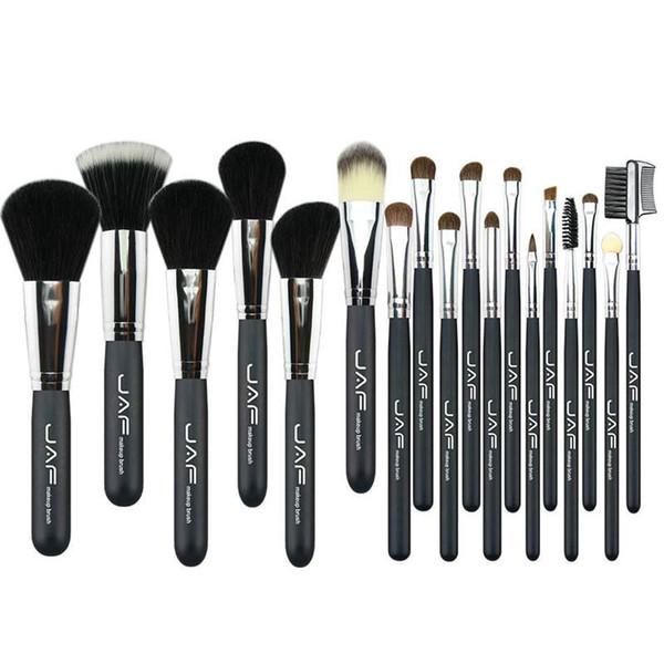 JAF 20 Pcs / Set Brosses pour Maquillage cheval Cheveux Maquillage Brosse Ensemble professionnel Cosmétique Maquillage Brosse Outils Kits J20PY-B