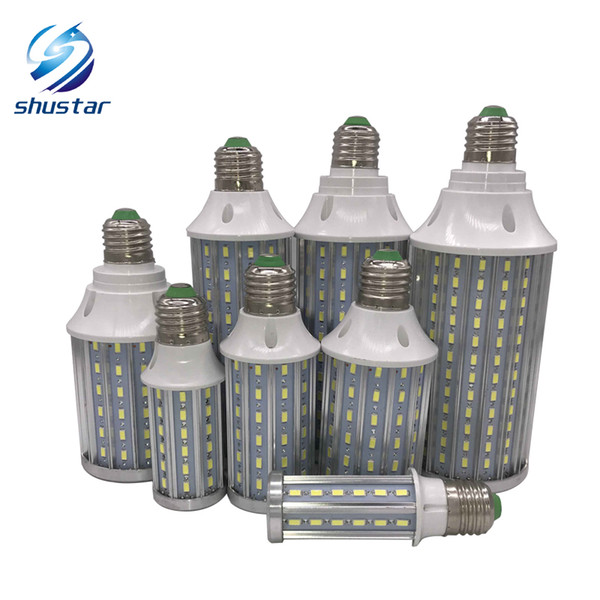 best selling Ultra Bright PCB Aluminum 5730 SMD LED Corn Bulb 85V-265V 10W 15W 20W 25W 30W 40W 60W 80W No Flicker LED Lamps