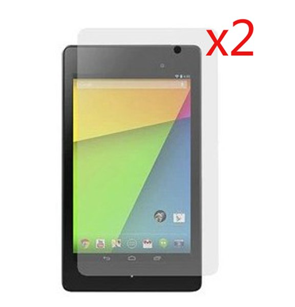 """Wholesale- 2pcs Matte Anti-Glare Screen Protector Films Matted Protective Film Guard For Google Nexus 7 II 2nd 2gen 2013 7"""" Tablet"""
