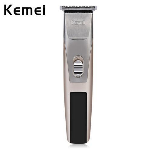 Kemei KM-2158 Rechargeable Hair Clipper Trimmer Shaver Razor Low noise Clipper Haircut for Men Baby