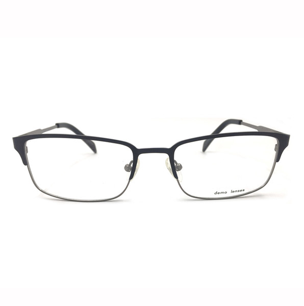 6ed991357184 M104 Vintage Men Women Eyewear Full Rim Clear Lens Round High Quality Metal Optical  Glasses Prescription