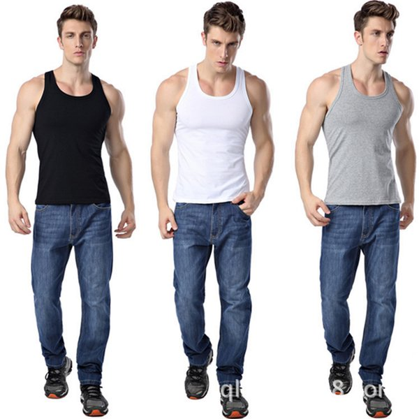 Men Tank Top Tees Sleeveless Solid Tshirts Mens Vest Stringer Singlets Casual Undershirts Bodybuilding Clothes sexy Gay Corset underwear