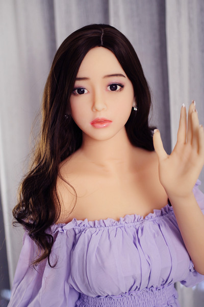 165cm Hot selling Silicone Sex Doll for Men Vagina Anal Oral sex love Korea girl sex face
