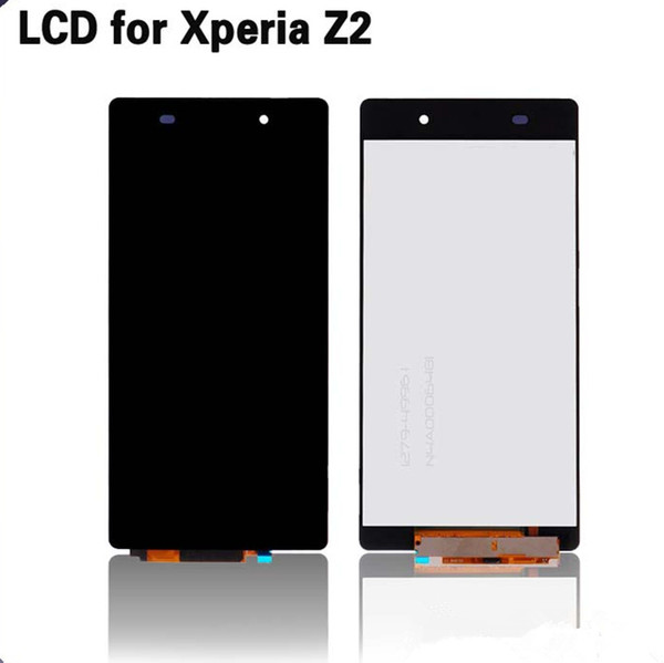 For Sony Xperia Z2 LCD Assembly with touch panel good quality perfect fit with fast shipping