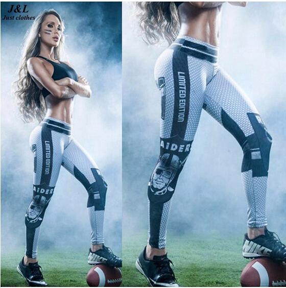 Clásico Capitán América 3D Imprimir Mujeres Mention Hip Sporting Leggings Sexy Yoga itness Pantalones Femeninos Ropa de Entrenamiento Elástico Ropa Mujer