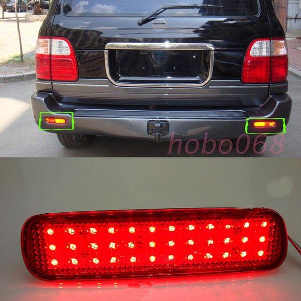 2Pcs / LOT Per Lexus LX470 1998-07 LED per auto luce freno posteriore Fendinebbia paraurti destro e sinistro