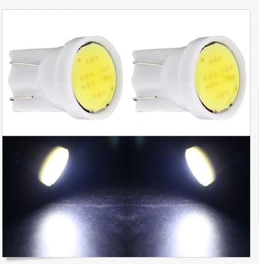 100X T10 6SMD COB Araba işık kaynağı LED Kama Lambası araba sinyalleri ampuller Araba Gümrükleme ışıkları Için