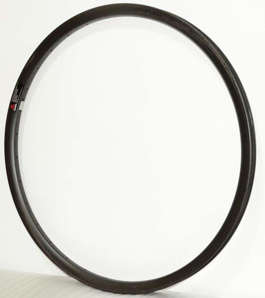 Free shipping 27.5er Hookless carbon wheels UD matte Mountain Bike 27.5er MTB carbon rims 35mm width 25mm depth 32 holes