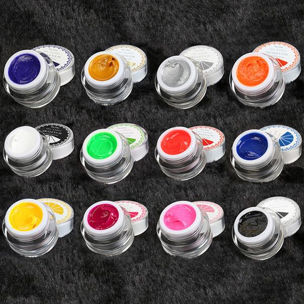 Wholesale Set 3d Nail Art Paint Draw Painting Acrylic Color Uv Gel ...