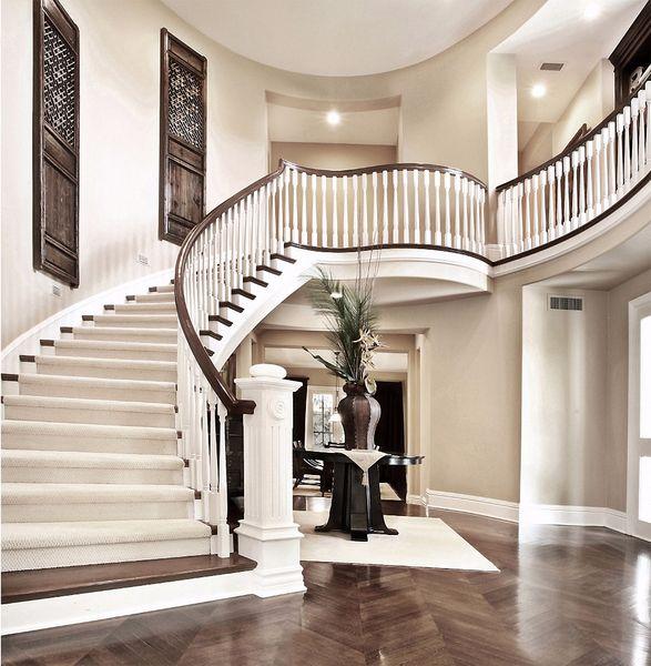2019 Indoor Staircase Backdrop Photography Luxury House Wedding Photo Studio Background Vinyl Cloth Fundo Fotografico Para Estudio From