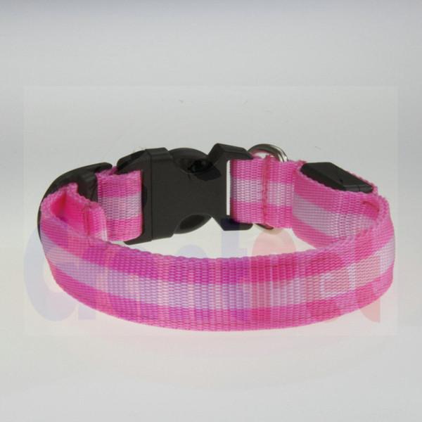 Favori Ürünleri Ayarlanabilir Pet Köpek Kedi Su Geçirmez LED Işık Flaş Gece Güvenlik USB tarafından USB Renkli Yaka şarj 000543