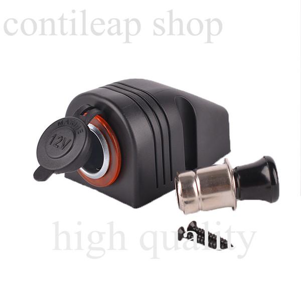 Wholesale- IZTOSS Motorcycle car 12 v dc Cigarette Lighter plugs and Cigarette Lighter sockets water proof cigarette light socket