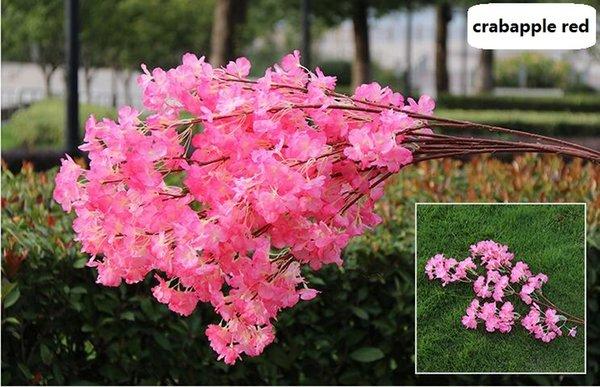 3 bifurcations single petals crabapple
