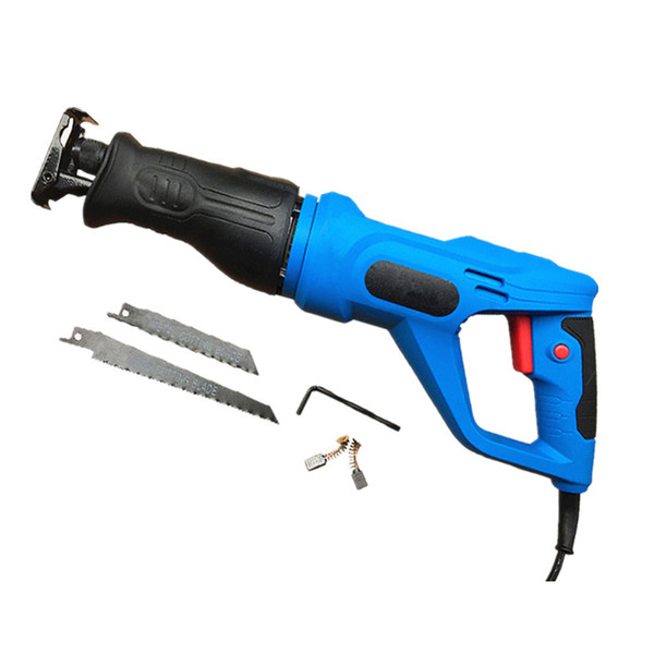top popular portable multi-function electric reciprocating saw woodworking saws household handsaw metal cutting machine pvc sawing tool for cut off 2021