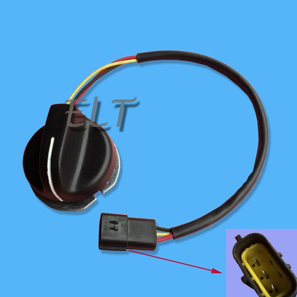 SK200-6E Gasmotor Knopf YN52S00009P1, Kobelco SK200-8 Bagger Potentiometer Gasgriff Knopf Knopf