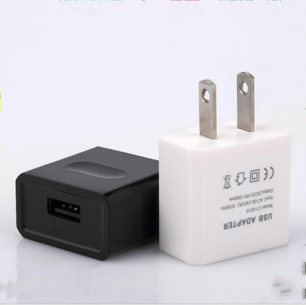 Universal 5V Full 1A fast Travel Wall Charger US plug USB AC Power Adapter For iphone Samsung cell phone 3C charger