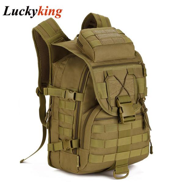 Vente en gros 40L Double-épaule Sacs à dos Multifonction Femmes Sac Armée Grands Hommes Camouflage Sac à dos Livraison Gratuite D023