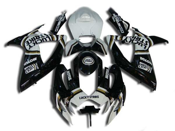 Motorrad Verkleidungsbausatz für 2006 2007 SUZUKI GSXR600 750 Karosserie GSXR 600 GSXR750 K6 06 07 ABS Verkleidungssatz MN08
