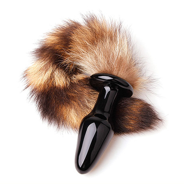 Sex toys For Women Love Faux Fox Tail Butt Anal Plug Sexy Romance Adult sex toys #R70
