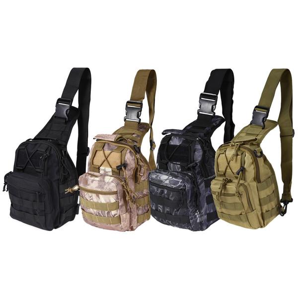 Açık Spor Çanta Omuz Askeri Kamp Yürüyüş Çantası Taktik Sırt Çantası Yardımcı Kamp Seyahat Yürüyüş Trekking Çanta Messenger Çanta + B