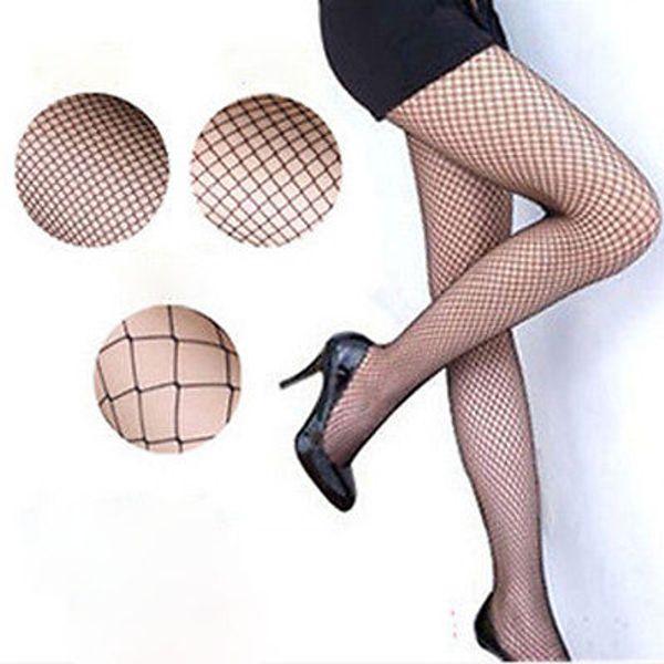 Atacado-Lady Mulheres Sexy Meia-Calça Meia-Calça Arrastão Meias De Nylon Meia Longa Jacquard Passo Pé Costura Meia-calça Alta Sobre O Joelho Meias