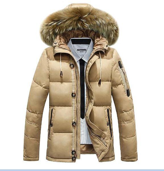 Mens Branded Parka Coats