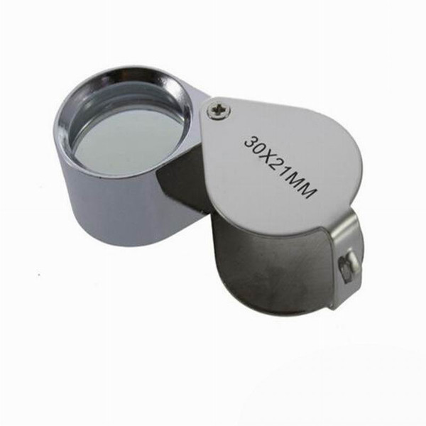 top popular Wholesale Fast 180 PCS 30x 21mm Jewelers Eye Magnifying Glass Magnifier Loupe 2020