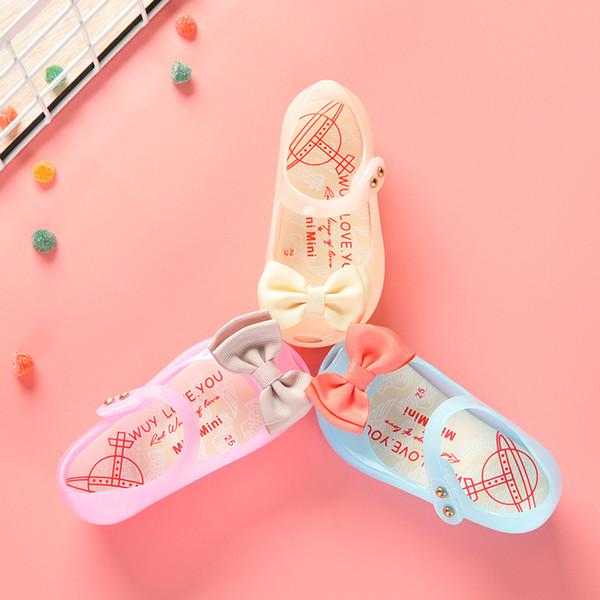 Melissa Shoes Girls Sandals Led Lighting Soft Jelly Girls Scarpe Casual Sandali Bambino Bambino Summer Princess LED Mini Melissa