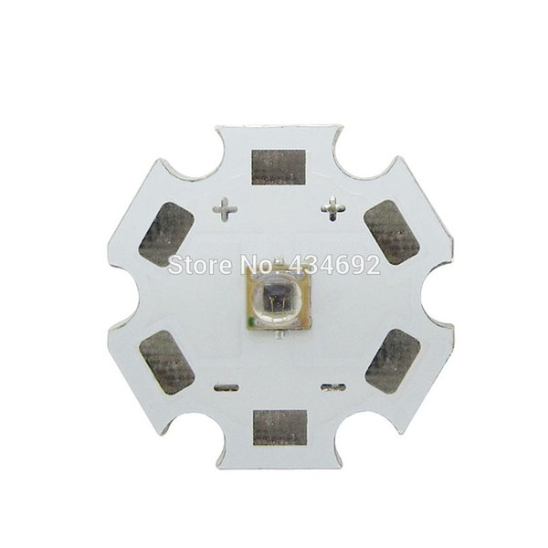 50 TEILE / LOS High Power 3 Watt 730NM - 740NM Infrarot Rot Led Emitter Perlen Licht 1,6-1,8 V 350-800 mA 20 MM Weiß PCB Für Led-lampe Licht