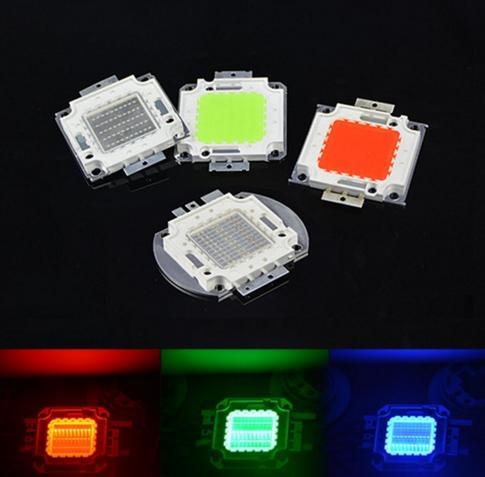 Full 50 W LED SMD Chip de lâmpada de Alta Potência Integrada Para DIY Floodlight Crescer luz branco morno / Vermelho / Verde / Azul / Amarelo / RGB