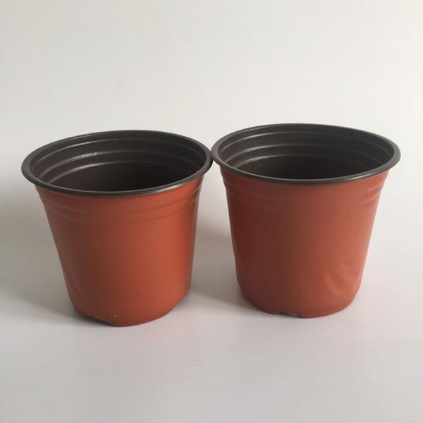 Vasche Da Giardino Plastica.Acquista D13xh12cm Fiore Vasca Calibro Resistenza Alla Corrosione