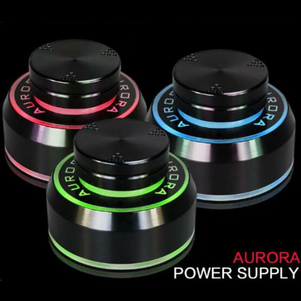 Fuente de alimentación Aurora Tattoo con adaptador de corriente Para delineador y sombreado de tatuaje tanto de bobina como rotativos, adecuado para todos los artistas
