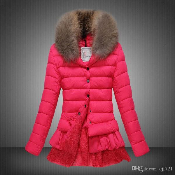 Von Und Winddicht Warme Parka Oberbekleidung Mantel Damen 2016 Gute Qualität Dhl Großhandel Frauen Jacken Frau Wasserdicht Winter Daunenmantel uTZOkiXP