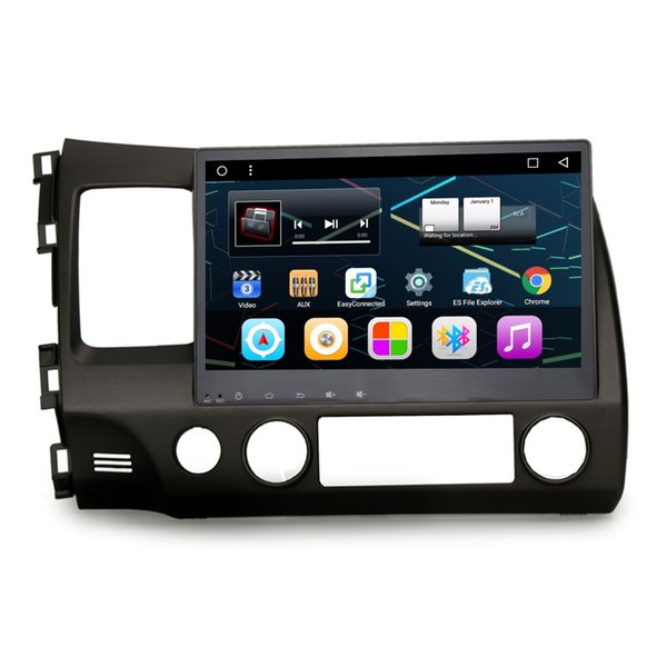 "10.2"" Touch Scren Andorid 6.0.1 Auto Recorder Car DVD For Honda Civic 2006-2012 GPS BT 4.0 OBD DVR Mirror Scteen WIFI Steerign Wheel Control"