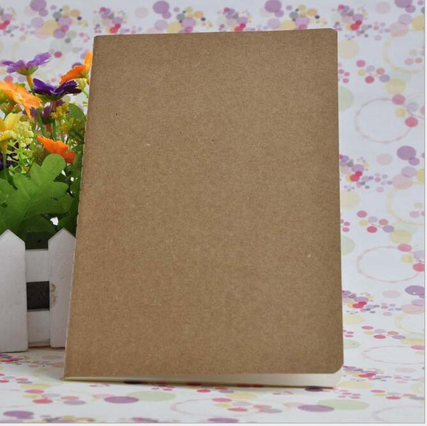 best selling cowhide paper notebook blank notepads book vintage soft copybook daily memos Kraft cover journal notebooks office school book