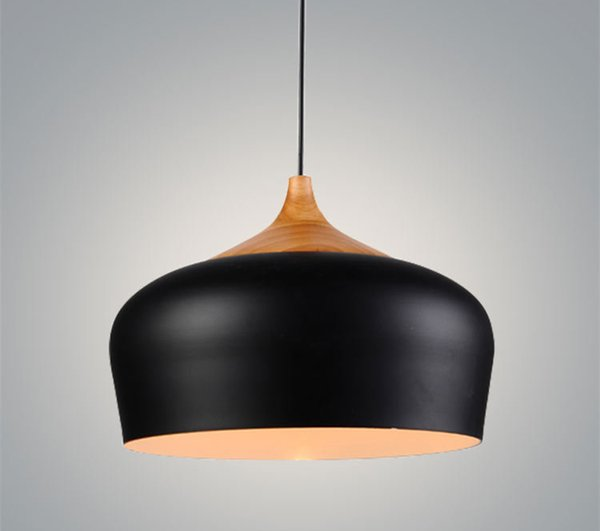 Nordic pendant lights wood aluminum lampshade industrial lighting nordic pendant lights wood aluminum lampshade industrial lighting loft lamparas dining room pendant lamp e27 light mozeypictures Images