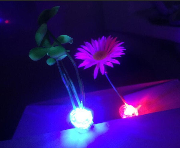 Luminous sell Meng artifact head long grass and flowers sprout animal hairpin hairpin hair accessories scenic hot