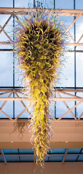 Free Shipping 100% Mouth Blown Borosilicate Energy Saving Light Source Murano Glass Art Modern Led Large Chandelier Lights