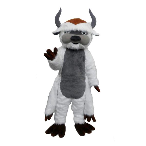 Big Bull Mascot Costumes Cartoon Character Adult Sz 100% Real Picture