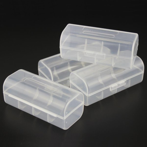 Home Organization box Transparent Plastic Protective Case Holder Container 26650 Battery Storage Boxes For 1X 26650 Battery Holder Organizer